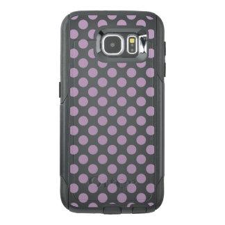 Funda OtterBox Para Samsung Galaxy S6 Lunares de la lila