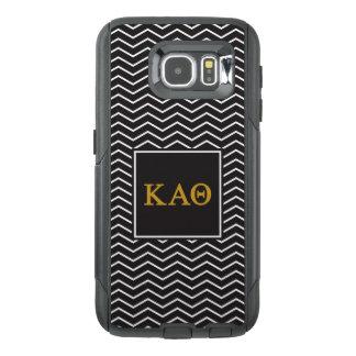 Funda OtterBox Para Samsung Galaxy S6 Modelo alfa de la theta el   Chevron de Kappa