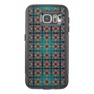 Funda OtterBox Para Samsung Galaxy S6 Modelo inconsútil retro geométrico abstracto