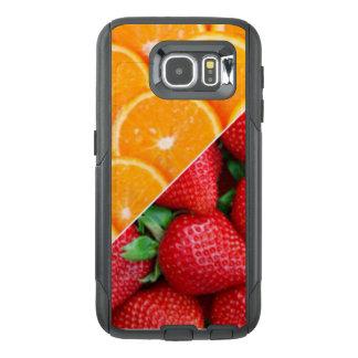 Funda OtterBox Para Samsung Galaxy S6 Naranjas y collage de las fresas