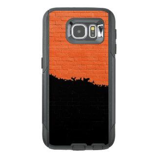 Funda OtterBox Para Samsung Galaxy S6 Pared de ladrillo pintada