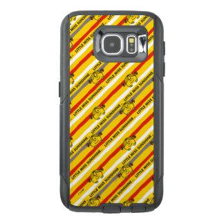 Funda OtterBox Para Samsung Galaxy S6 Pequeña Srta. Sunshine el | rojo, modelo amarillo