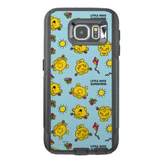 Funda OtterBox Para Samsung Galaxy S6 Pequeño modelo de lunar del trullo de Srta.