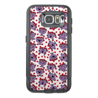 Funda OtterBox Para Samsung Galaxy S6 Pequeño modelo de lunar rojo de Srta. Bad el |