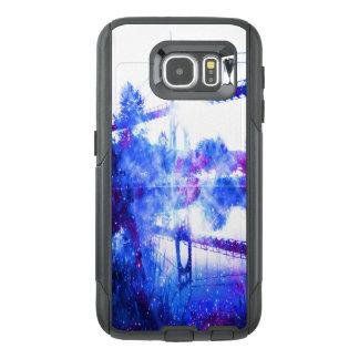 Funda OtterBox Para Samsung Galaxy S6 Puente de los sueños del amante a dondequiera