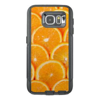 Funda OtterBox Para Samsung Galaxy S6 Rebanadas anaranjadas