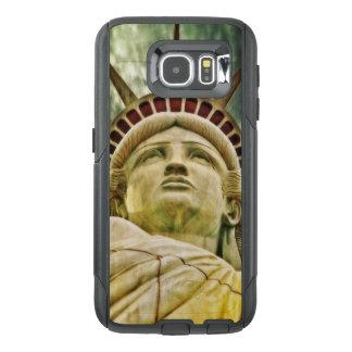 Funda OtterBox Para Samsung Galaxy S6 Señora Liberty, estatua de la libertad