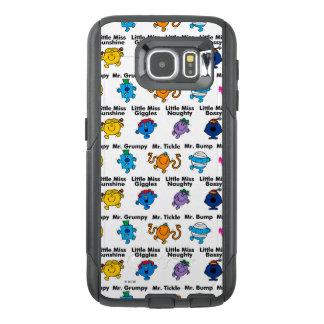 Funda OtterBox Para Samsung Galaxy S6 Sr. Men y pequeños nombres del carácter de la