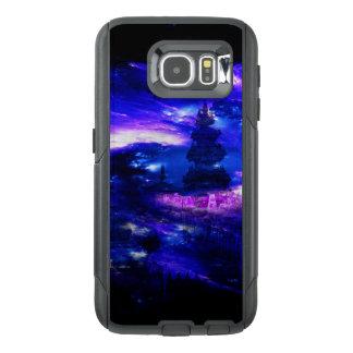 Funda OtterBox Para Samsung Galaxy S6 Sueños Amethyst de Bali del zafiro