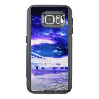 Funda OtterBox Para Samsung Galaxy S6 Sueños Amethyst de Budapest del zafiro