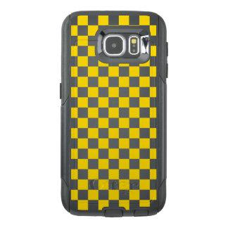 Funda OtterBox Para Samsung Galaxy S6 Tablero de damas amarillo