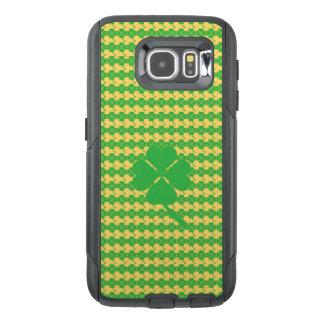 Funda OtterBox Para Samsung Galaxy S6 trébol de la Cuatro-hoja