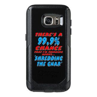 Funda Otterbox Para Samsung Galaxy S7 99,9% DESTROZANDO EL GNAR (blanco)