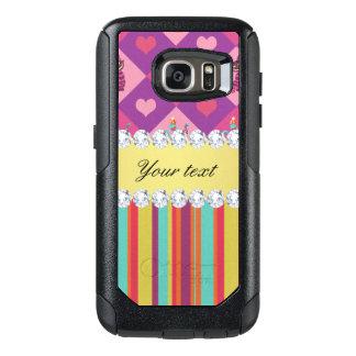 Funda Otterbox Para Samsung Galaxy S7 Alicia colorida en el país de las maravillas y