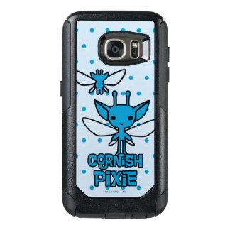 Funda Otterbox Para Samsung Galaxy S7 Arte de Cornualles del carácter del duendecillo