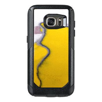 Funda Otterbox Para Samsung Galaxy S7 Arte de la peladura de la pintura del coche