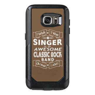 Funda Otterbox Para Samsung Galaxy S7 Banda de rock clásica impresionante del CANTANTE