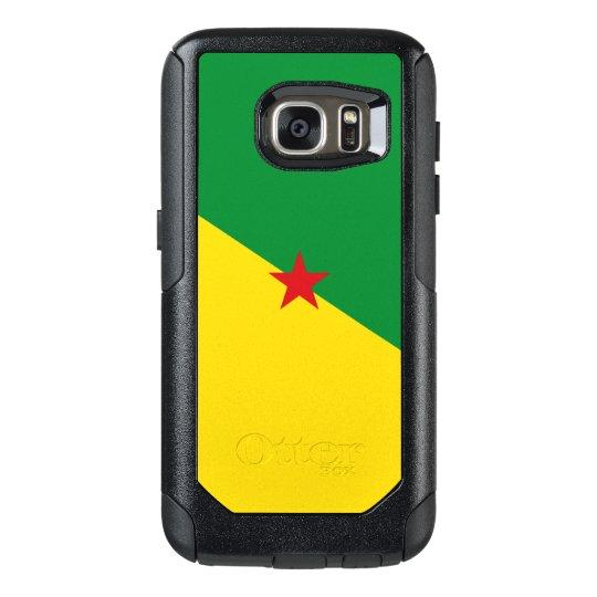 Funda Otterbox Para Samsung Galaxy S7 Bandera del caso de la Guayana Francesa Samsung