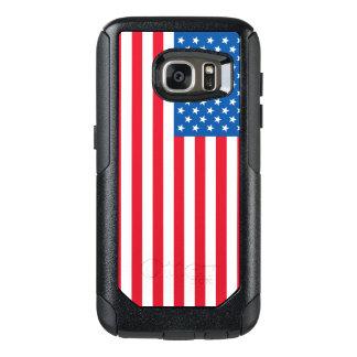 Funda Otterbox Para Samsung Galaxy S7 Barras y estrellas de la bandera de los E.E.U.U.