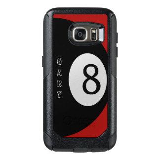 Funda Otterbox Para Samsung Galaxy S7 Billar rojo de ocho bolas sentido personal