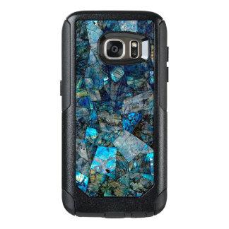 Funda Otterbox Para Samsung Galaxy S7 Caja abstracta artsy de la galaxia S7 de las gemas