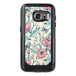Funda Otterbox Para Samsung Galaxy S7 Caja color de rosa rosada de la galaxia S7 de