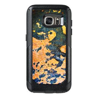 Funda Otterbox Para Samsung Galaxy S7 Caja de la galaxia de Samsung de la roca amarilla