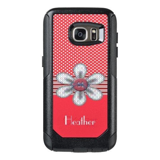 Funda Otterbox Para Samsung Galaxy S7 Caja de la galaxia S7 de Samsung del viajero de
