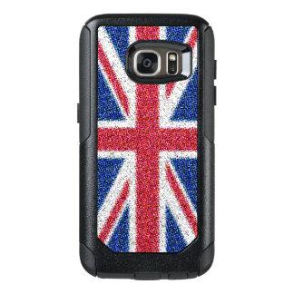 Funda Otterbox Para Samsung Galaxy S7 Caja del teléfono de Union Jack