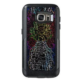 Funda Otterbox Para Samsung Galaxy S7 Caja futurista de la bandera de Colorado