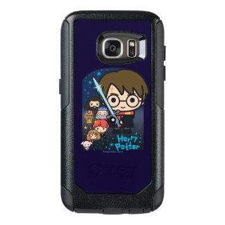 Funda Otterbox Para Samsung Galaxy S7 Cámara de Harry Potter del dibujo animado de