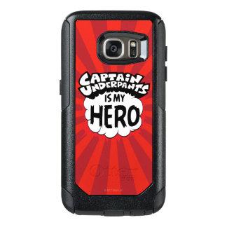 Funda Otterbox Para Samsung Galaxy S7 Capitán Underpants el | mi héroe