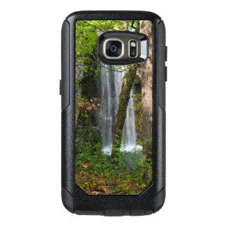 Funda Otterbox Para Samsung Galaxy S7 Cascada en las maderas