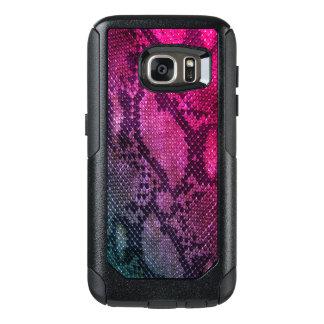 Funda Otterbox Para Samsung Galaxy S7 Casos rosados de Samsung del estilo de la piel de