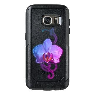 Funda Otterbox Para Samsung Galaxy S7 Casos únicos de Samsung del estilo de la orquídea