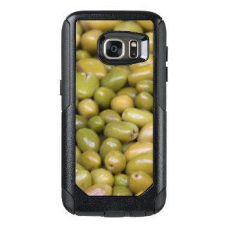 Funda Otterbox Para Samsung Galaxy S7 Ciérrese para arriba de aceitunas verdes