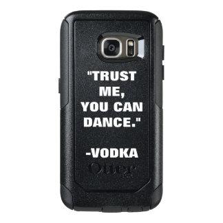 Funda Otterbox Para Samsung Galaxy S7 Confíe en que usted puede bailar - el alcohol
