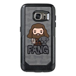 Funda Otterbox Para Samsung Galaxy S7 Dibujo animado Hagrid y arte del carácter del