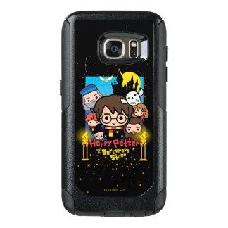 Funda Otterbox Para Samsung Galaxy S7 Dibujo animado Harry Potter y la piedra del