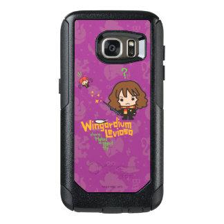 Funda Otterbox Para Samsung Galaxy S7 Dibujo animado Hermione y encanto de Ron