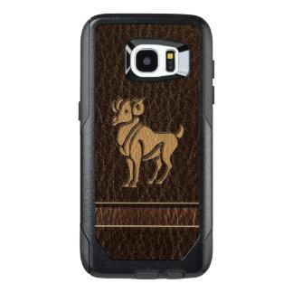 Funda OtterBox Para Samsung Galaxy S7 Edge Aries de la Cuero-Mirada
