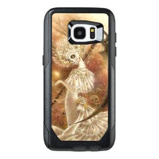 Funda OtterBox Para Samsung Galaxy S7 Edge Caso del borde de la galaxia S7 de Santa Muerte