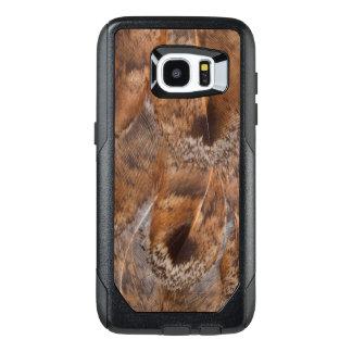 Funda OtterBox Para Samsung Galaxy S7 Edge Ciérrese para arriba de las plumas de Brown