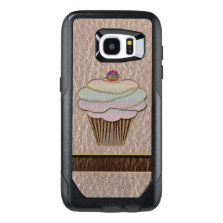 Funda OtterBox Para Samsung Galaxy S7 Edge Cuero-Mirada que cuece suavemente