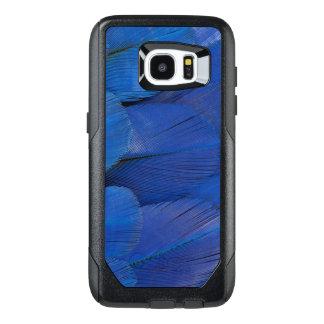 Funda OtterBox Para Samsung Galaxy S7 Edge Diseño azul de la pluma del Macaw del jacinto