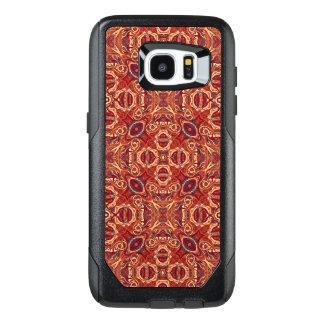Funda OtterBox Para Samsung Galaxy S7 Edge Diseño rizado dibujado mano colorida abstracta del