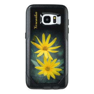 Funda OtterBox Para Samsung Galaxy S7 Edge Dos flores amarillas de alcachofa de Jerusalén