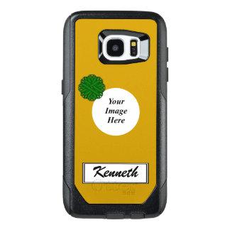 Funda OtterBox Para Samsung Galaxy S7 Edge Flor Rbn Tmpl del verde esmeralda de Kenneth