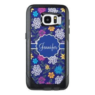 Funda OtterBox Para Samsung Galaxy S7 Edge Flores salvajes femeninas de la primavera y del