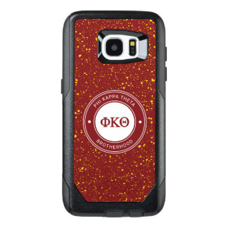 Funda OtterBox Para Samsung Galaxy S7 Edge Insignia de la theta el | de Kappa de la phi